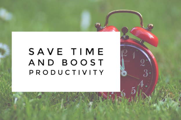 Save time and boost productivity